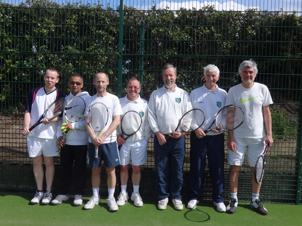 Fingal League Tennis Team for Grove Lawn Tennis Club
